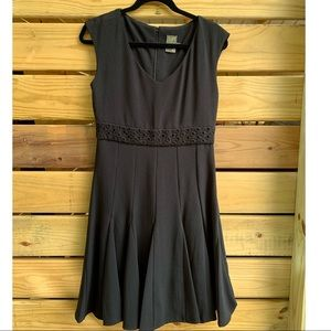 Taylor Black Dress Size 6